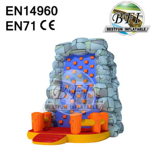 Inflatable Rocking Climbing Wall