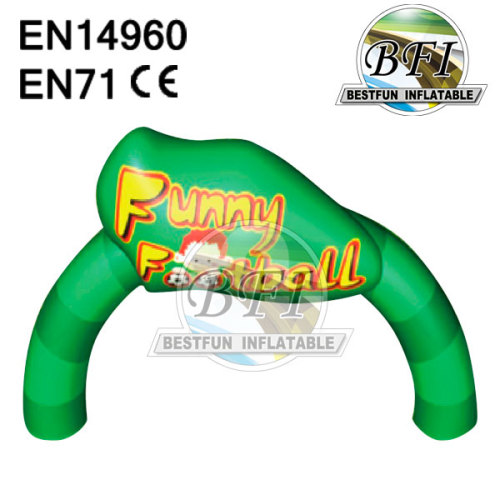 Inflatable Customized Green Arch
