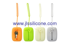 fashion silicone key and coin bag