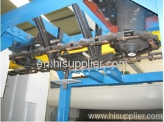 powder coating spray line
