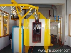 powder coating plant for lantern pole