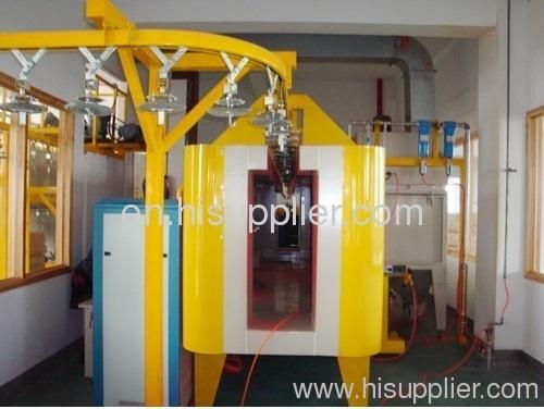 powder coating plant for lantern pole