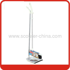 Dustpan and Broom with white and black color for home