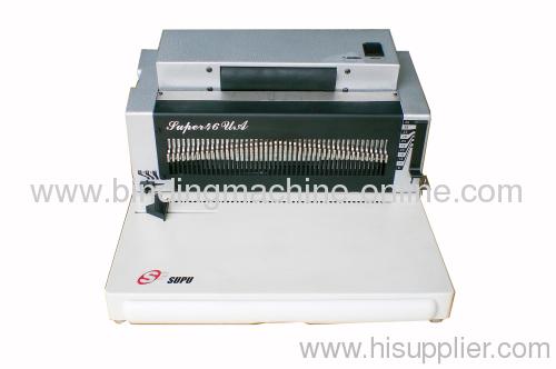 heavy duty spiral binding machine