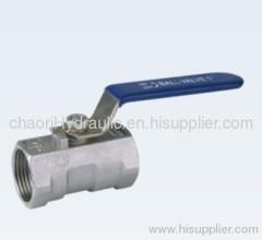 low medium pressure ball valve