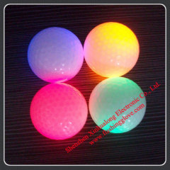 LED Flashing Golf Balls Used in Night