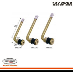 Tubeless Metal Clamp-in Valves (with 90° angle)