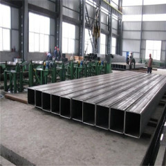welded erw square and Rectagular stainless steel square tube