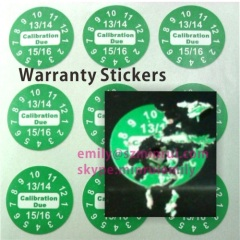Cusotm Round Warranty Void Label,Security Scew Stickers,Destructible Vinyl Warranty Labels,Custom Round Tamper Sticker