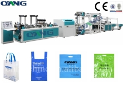 Computer controll full automatic non woven box bag making machines