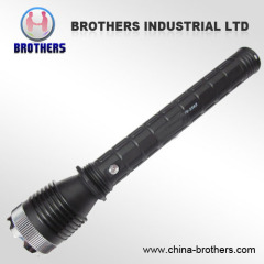 Supply led rechargeable flashlight YG-3565 1W 2 Batteries power