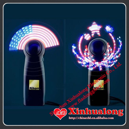 LED Mini Fan Advertised with Your Massage