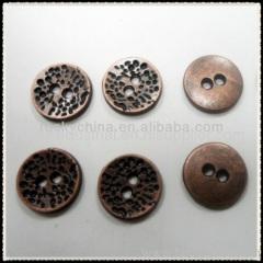Engraved Design Metal Button