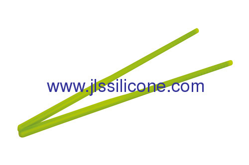 Colorful food contact silicone chopsticks
