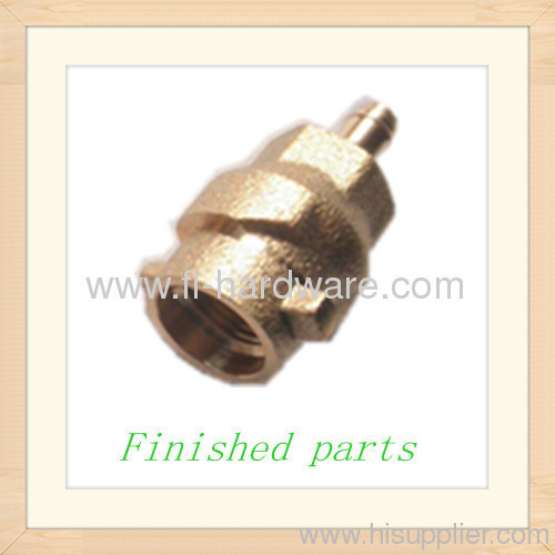 Brass forgned and machined connectors
