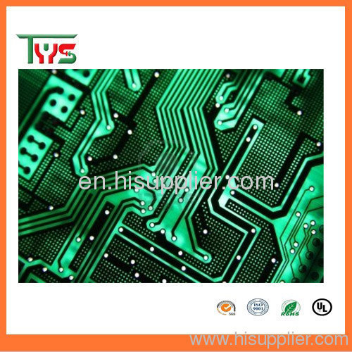 single side pcb design for led light for traffic sign