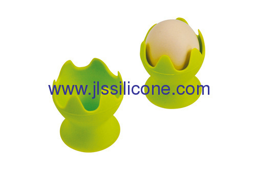 Fashion design single silicone egg pot