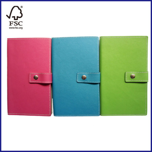 4 subjects leather notebooks