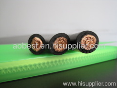 multi copper wire stranded flexible NSSHOU rubber insulated cable