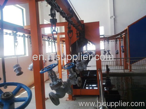 Die-forging overhead conveyor system
