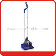 Aluminum handle Dustpan&Broom with color card&label