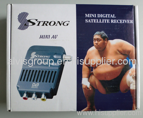 Strong 4669XII Satellite receiver for Middle east & Africa DVB-S2 HD