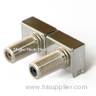 RF right angle connector, F connector