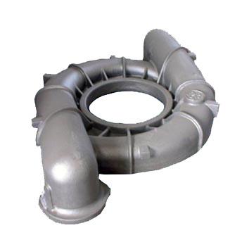 mercruiser 470 aluminum exhaust manifold