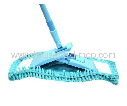 Chenille mop with steel pole