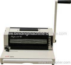 coil spiral binding machine