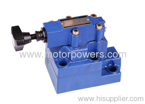 Pressure control valves with subplate mounting