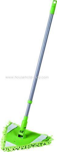 Microfiber triangle clean mop