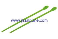 abrasion resistant smile face silicone chopsticks