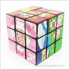 Heat transfer film for magic cube of children toys