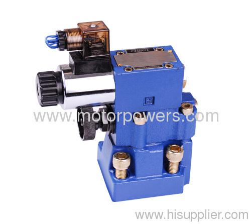 Pressure shut-off valve pilot operated