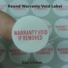 destructive warranty void if removed label