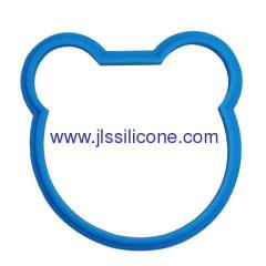 Bear shaped silicone omellette egg ring