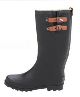 Women's Top Solid Rain Boot