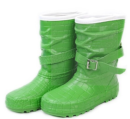 Girl's Rubber Rain Boots