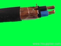 Multi-core Aluminum or Copper xlpe concentric cable