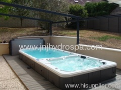 Swimming spa outdoor