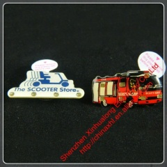 Best selling fashion flashing pin/badge
