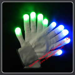 Flashing LED Gloves;LED Gloves;Party Gloves