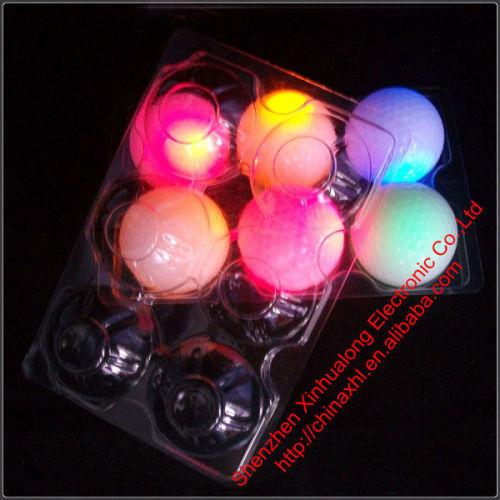 Custom Made Night Training LED Flashing Golf Balls