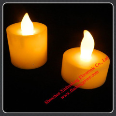 Flameless Promotional LED Flashing Candle for Decoration