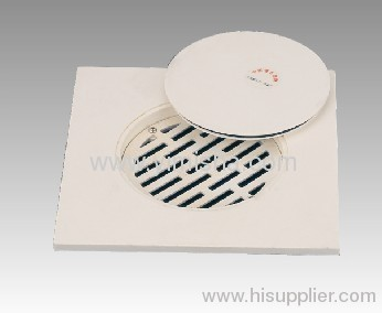 Plastic floor drain with strainer from china manufacturer for Floor clean out