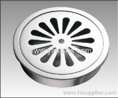 High Quality Circular Brass Chrome Plated Floor Drain