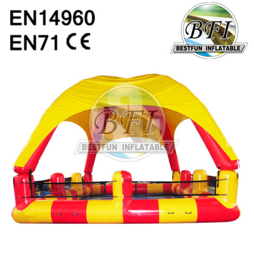 Inflatable Pool With Roof
