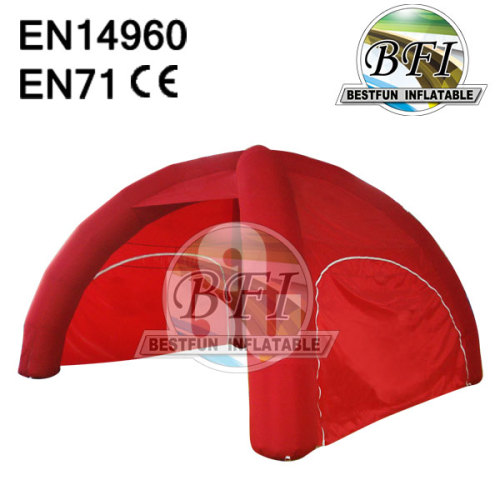 Advertising 4 Legs Inflatable Dome Tent