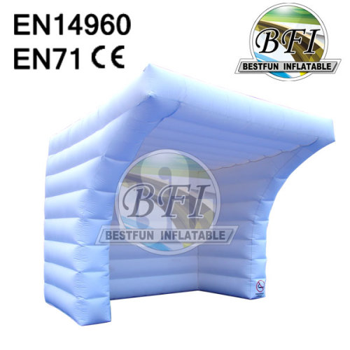 White Oxford Large Inflatable Booth Tent